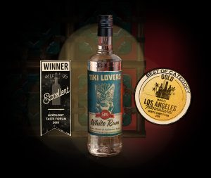 Tiki Lovers Bottle White Rum