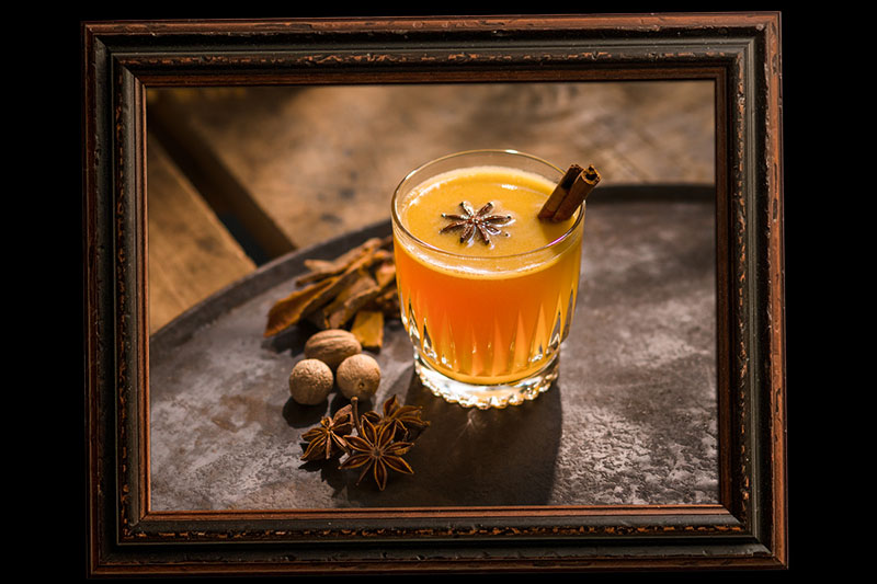 Hot-Buttered-Rum - Dark Rum Cocktail