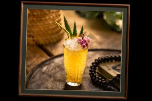 Tiki Lovers Cocktails - Pineapple Sour - Pineapple Rum Cocktail
